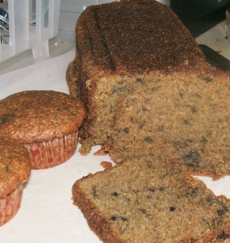 Tasty Blackberry Bread and Muffins!